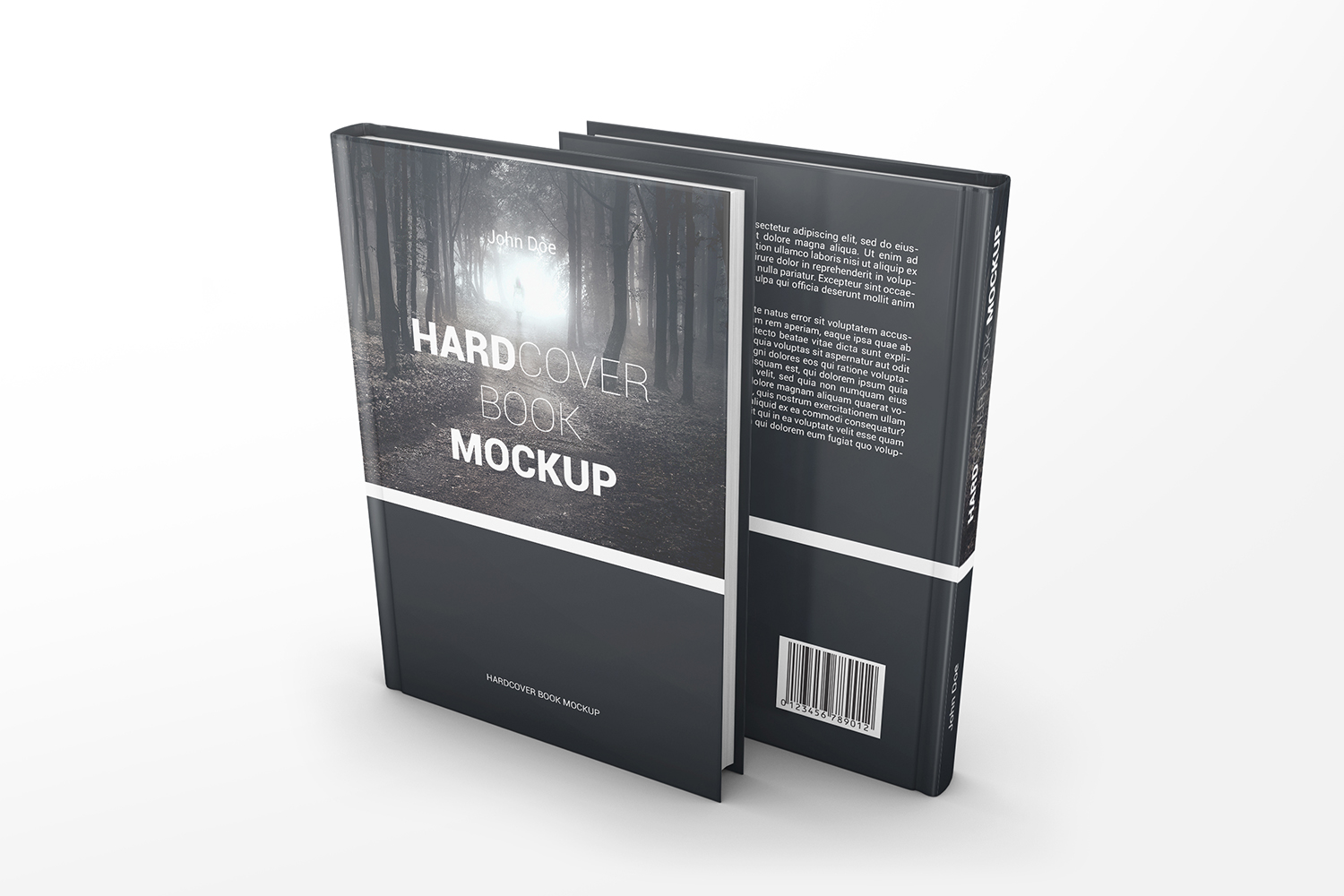 Hardcover Book Mockups example image 6