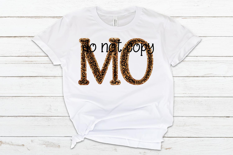 Missouri MO State Leopard Bundle example image 3