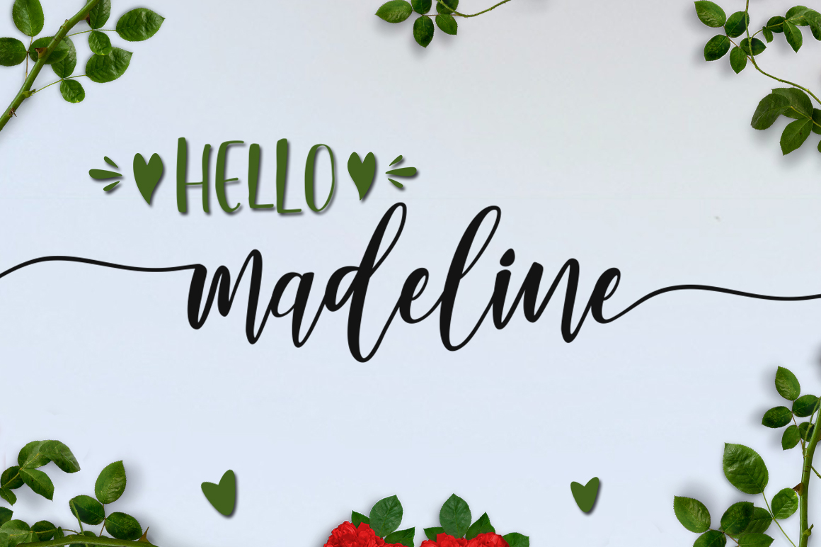 Lovely Buttering Font Duo & Extras example image 11