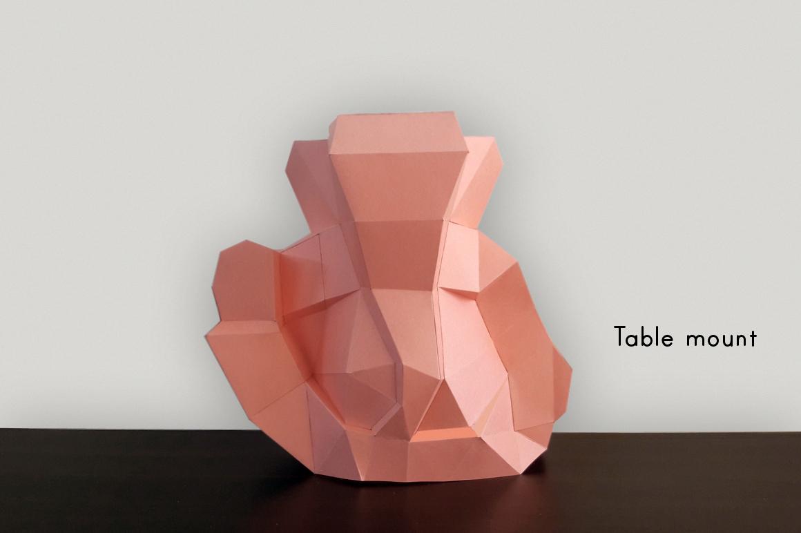 DIY Ganesha Sculpture - 3d papercraft example image 5