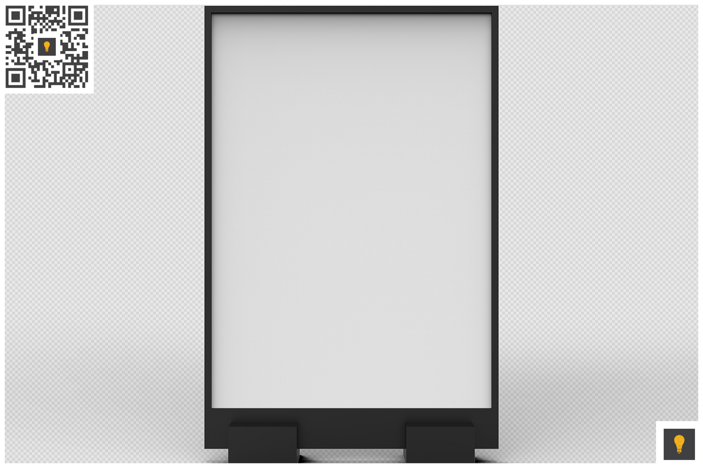 Flyer Display 3D Render example image 4