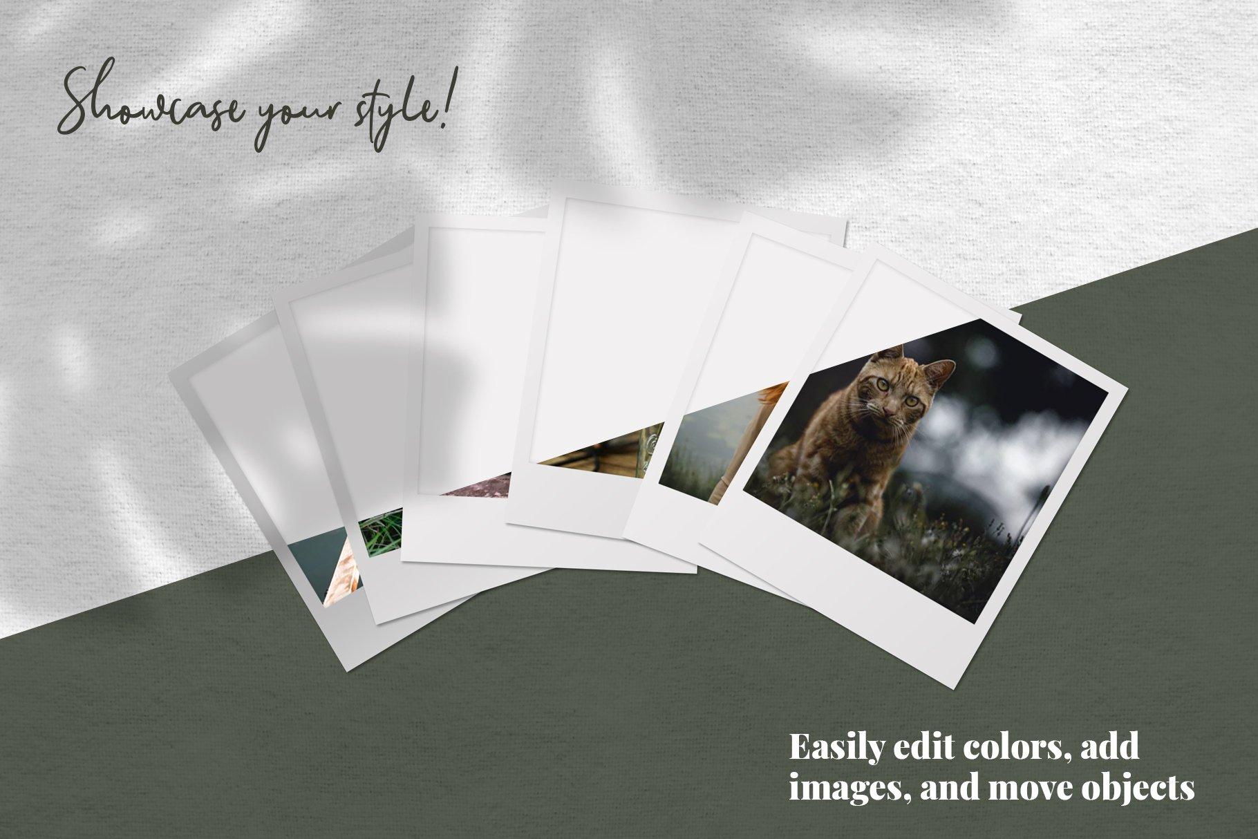 Mini Mood Board - Polaroids example image 2