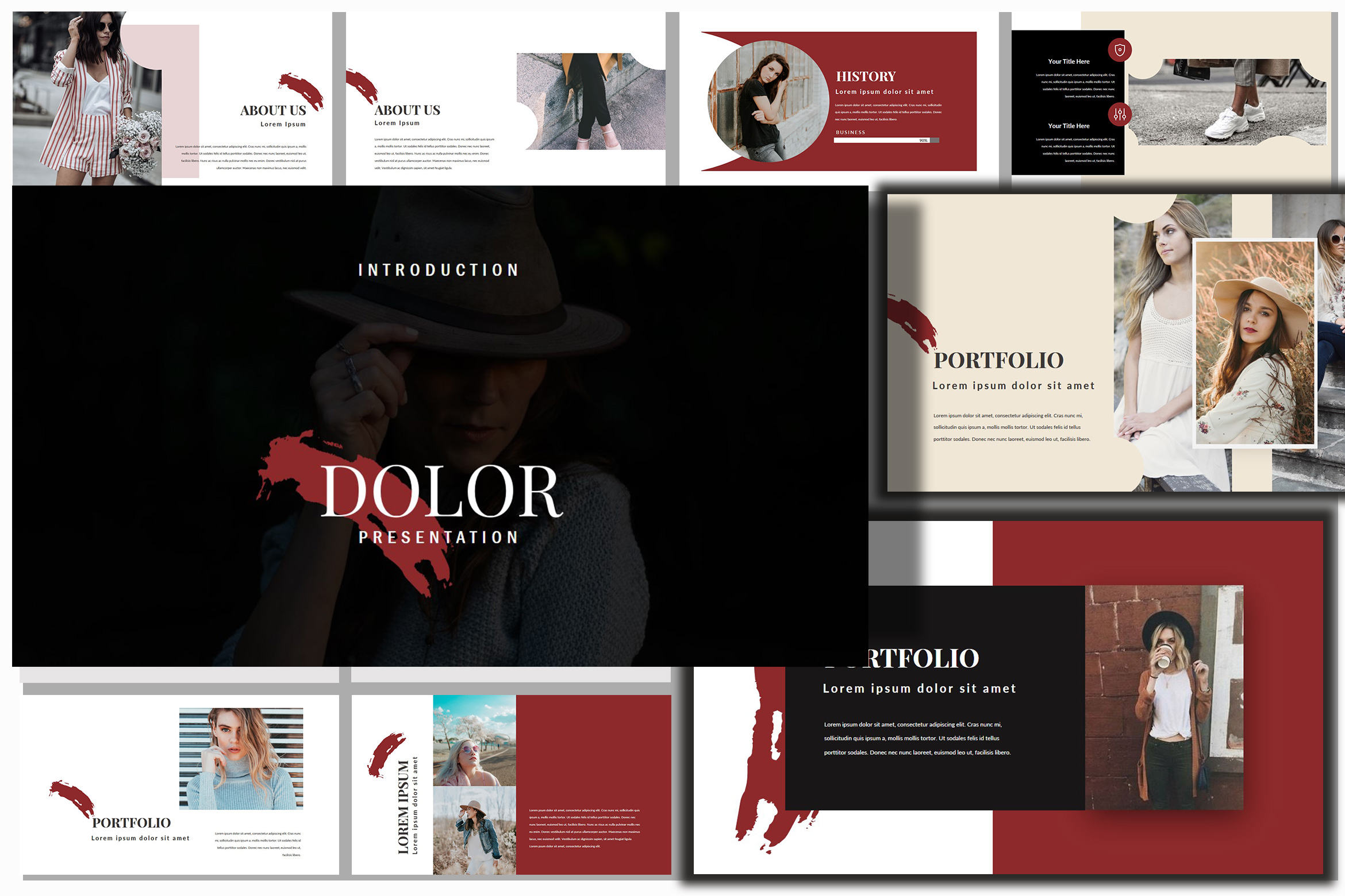 Dolor Stylish Google Slides Presentation example image 8