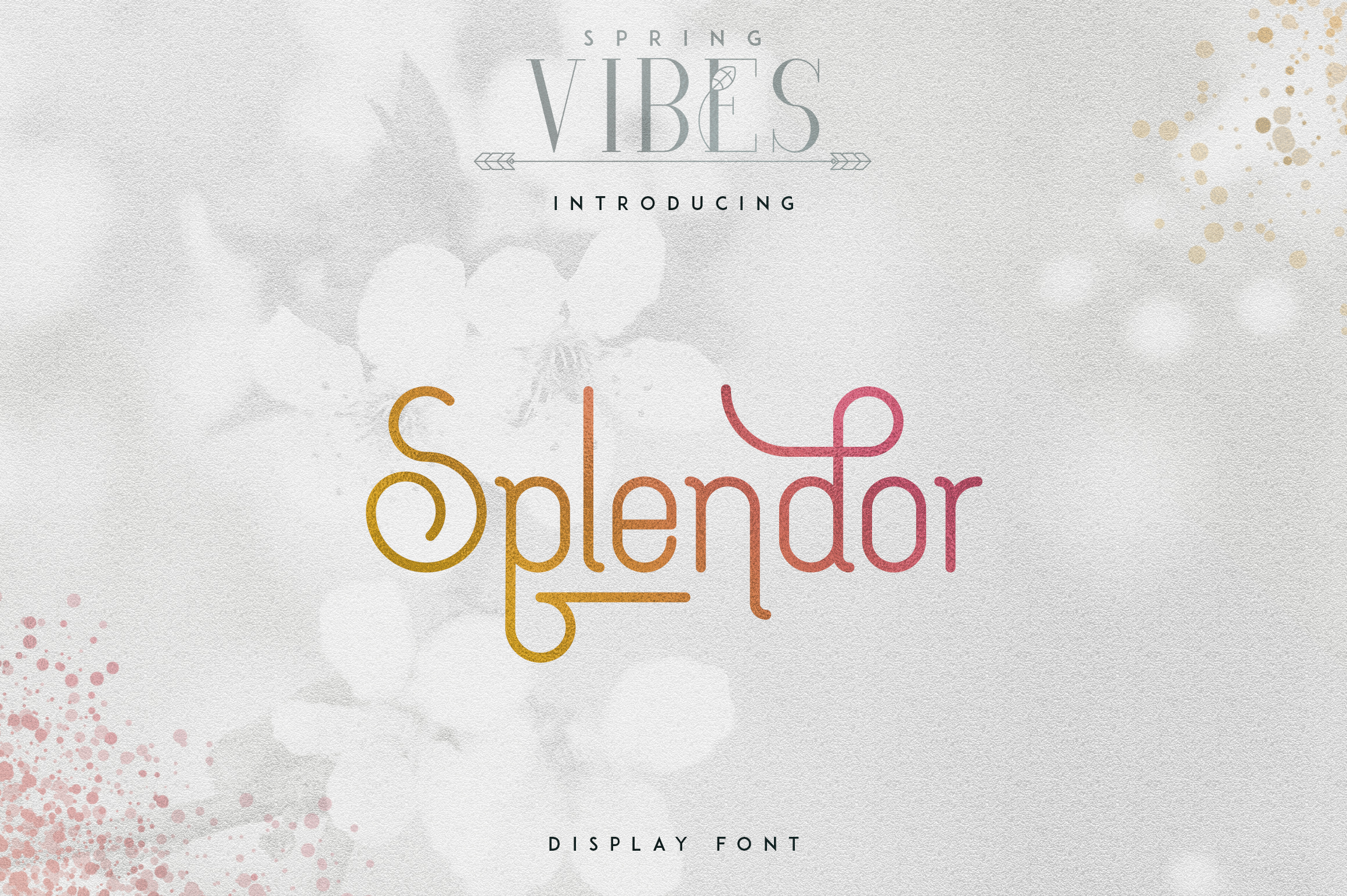 [Spring Vibes] Splendor Font example image 1