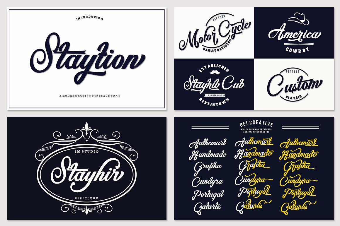 Fantastic Beautiful Bundle 10 Collection Font example image 10
