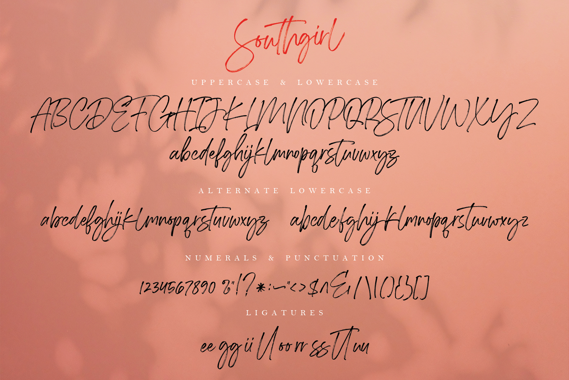 Southgirl Handwritten Font example image 9
