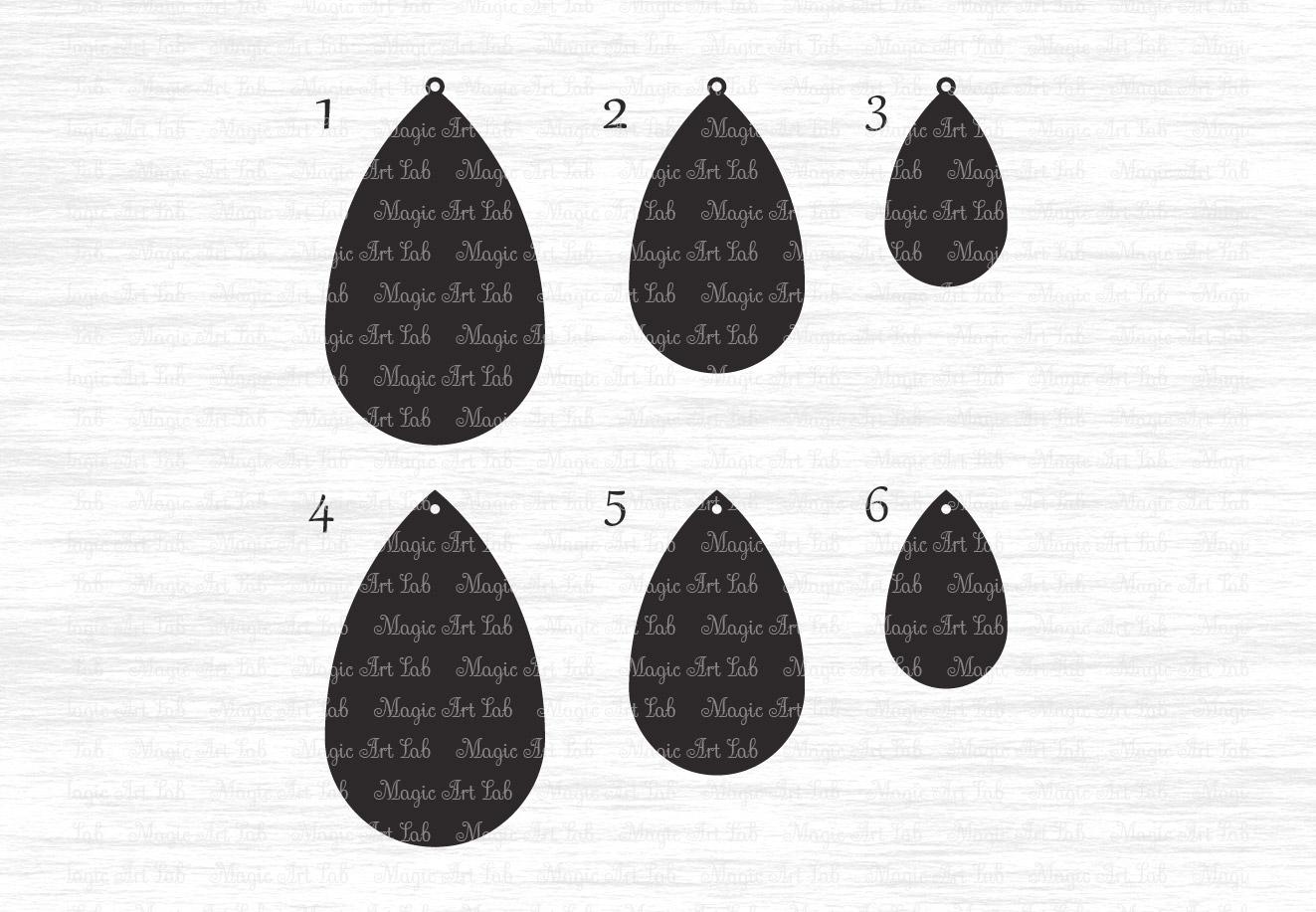 cb29e1978 Stacked earrings svg, Earring template cut file, Drop earrings svg, Pendant  svg,