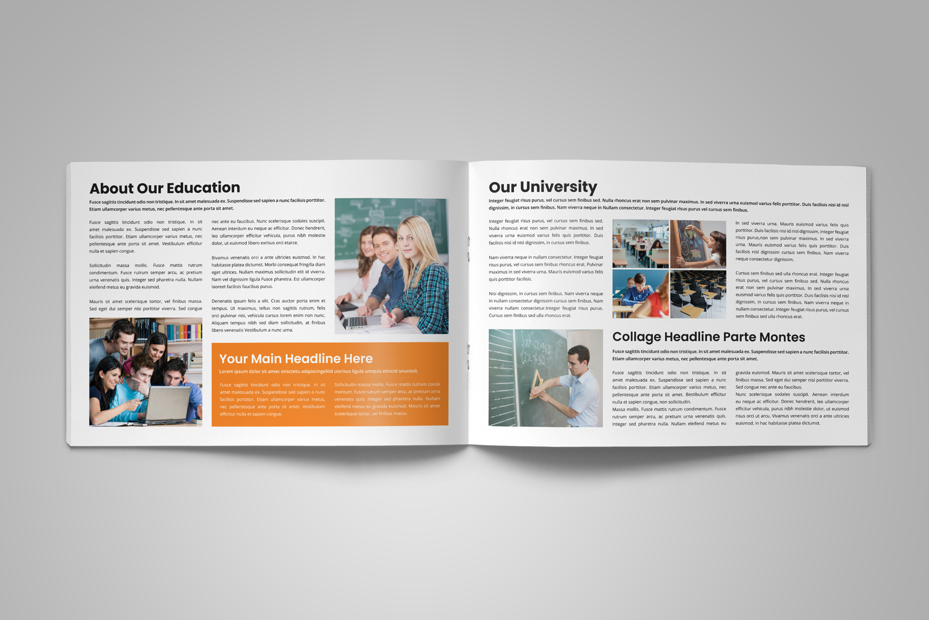 Education Prospectus Brochure v6 example image 3