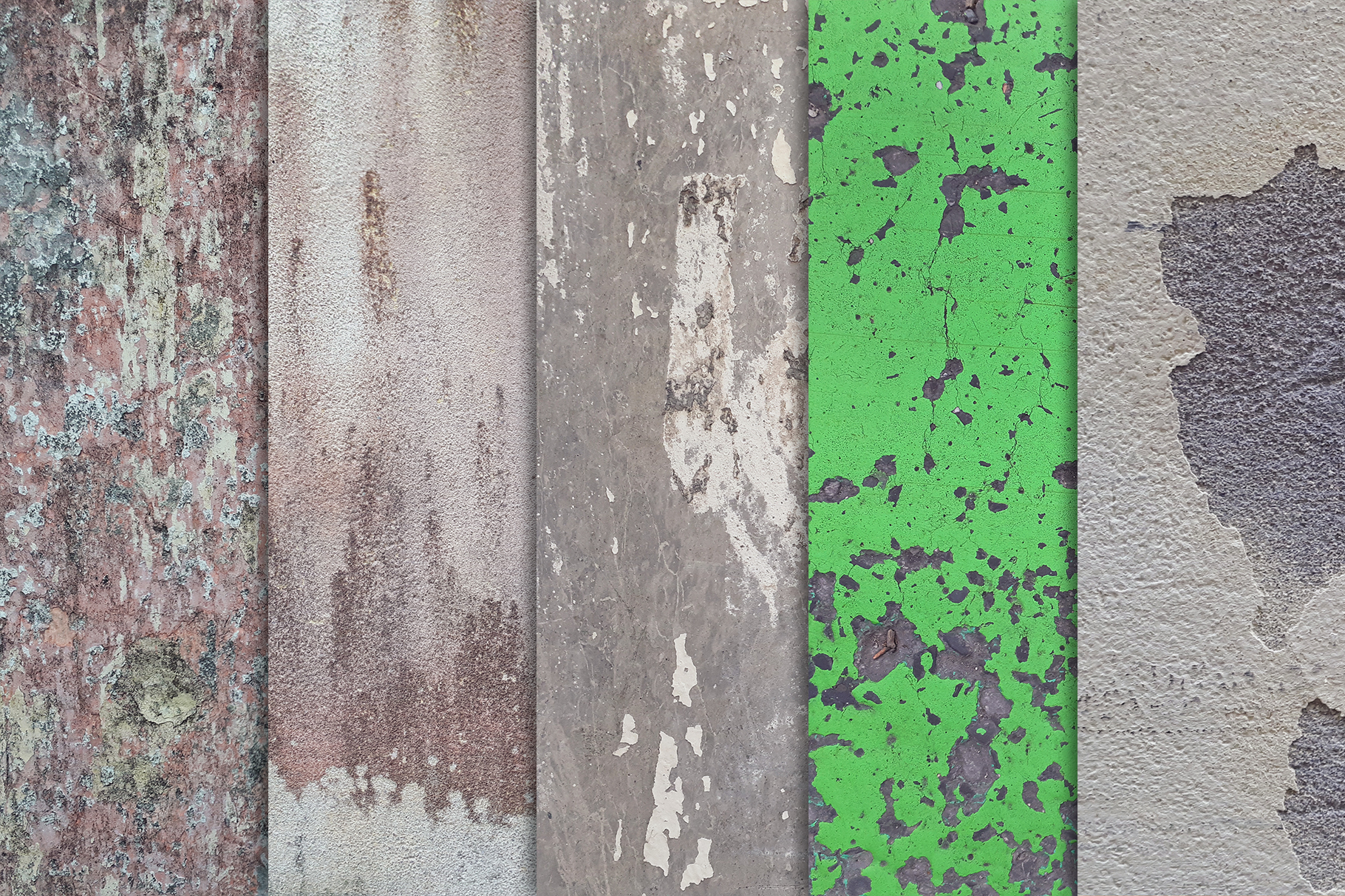 Grunge Wall Textures x10 vol2 example image 2