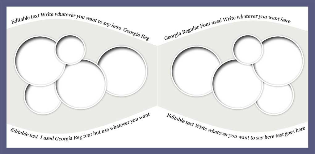 Digital Scrapbook Templates Bundle 3 example image 4