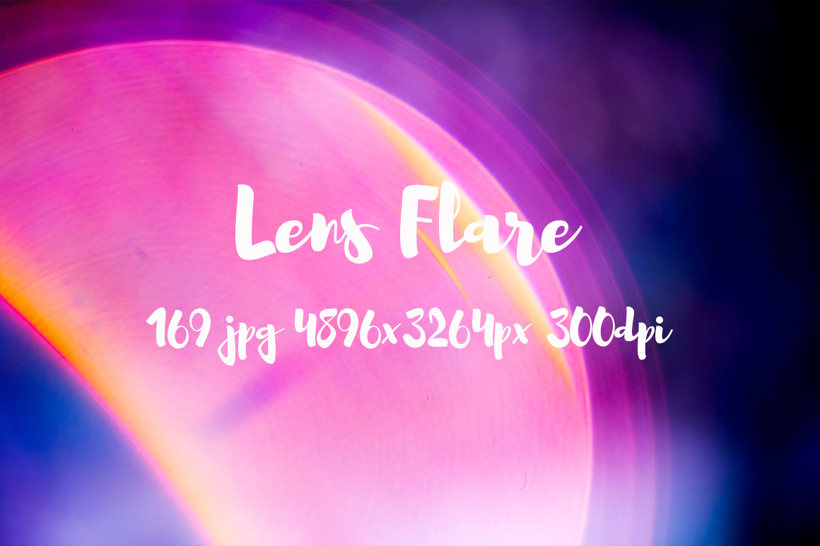 Lens Flare Pack example image 2