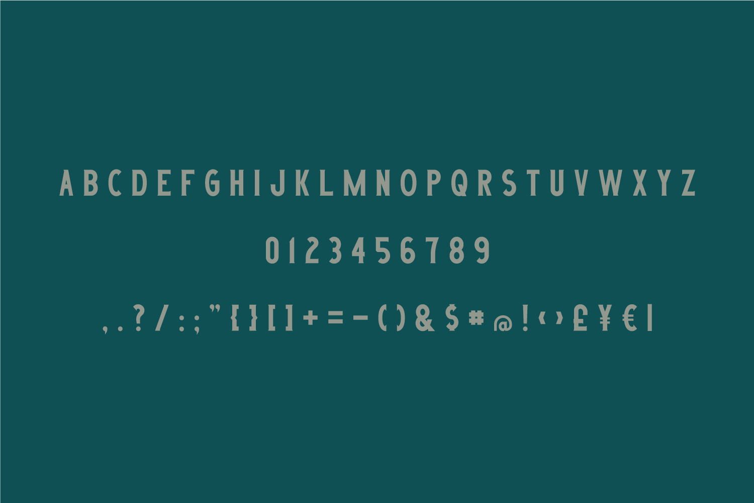 Outland - Vintage Typeface example image 2