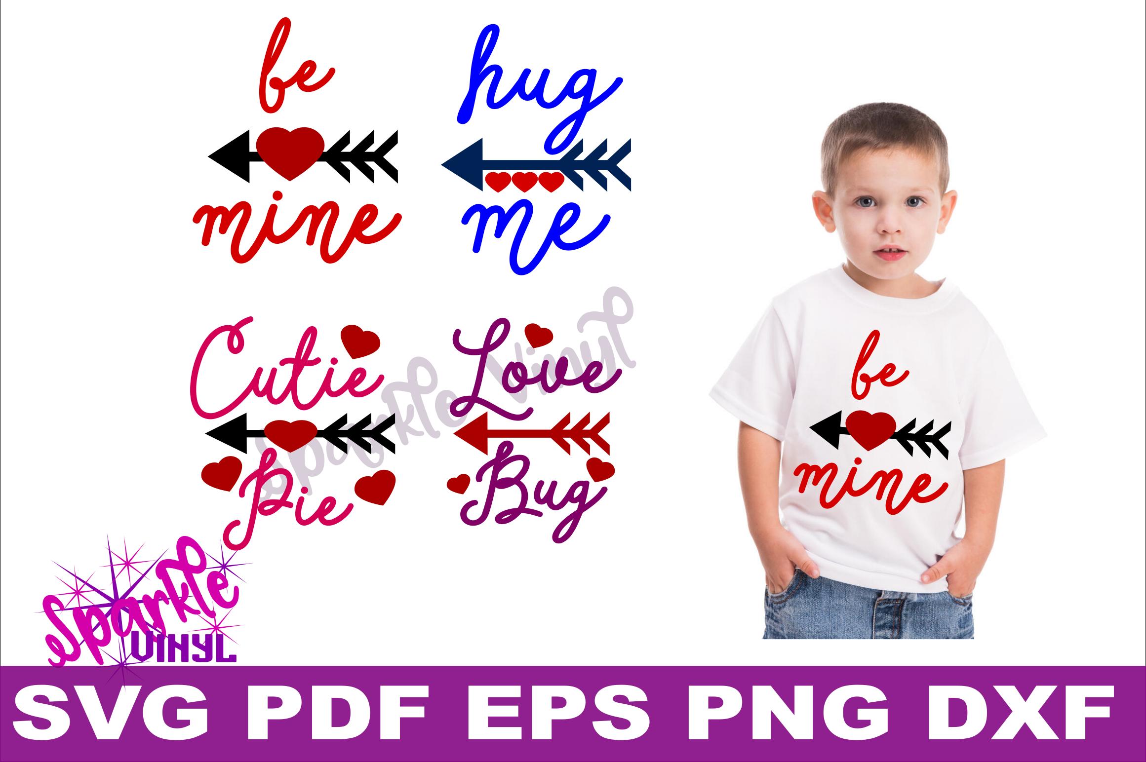Valentine Shirt Toddler Infant Girl printable or svg bundle cut files for cricut or silhouette, Svg Valentines day svg cut file example image 2