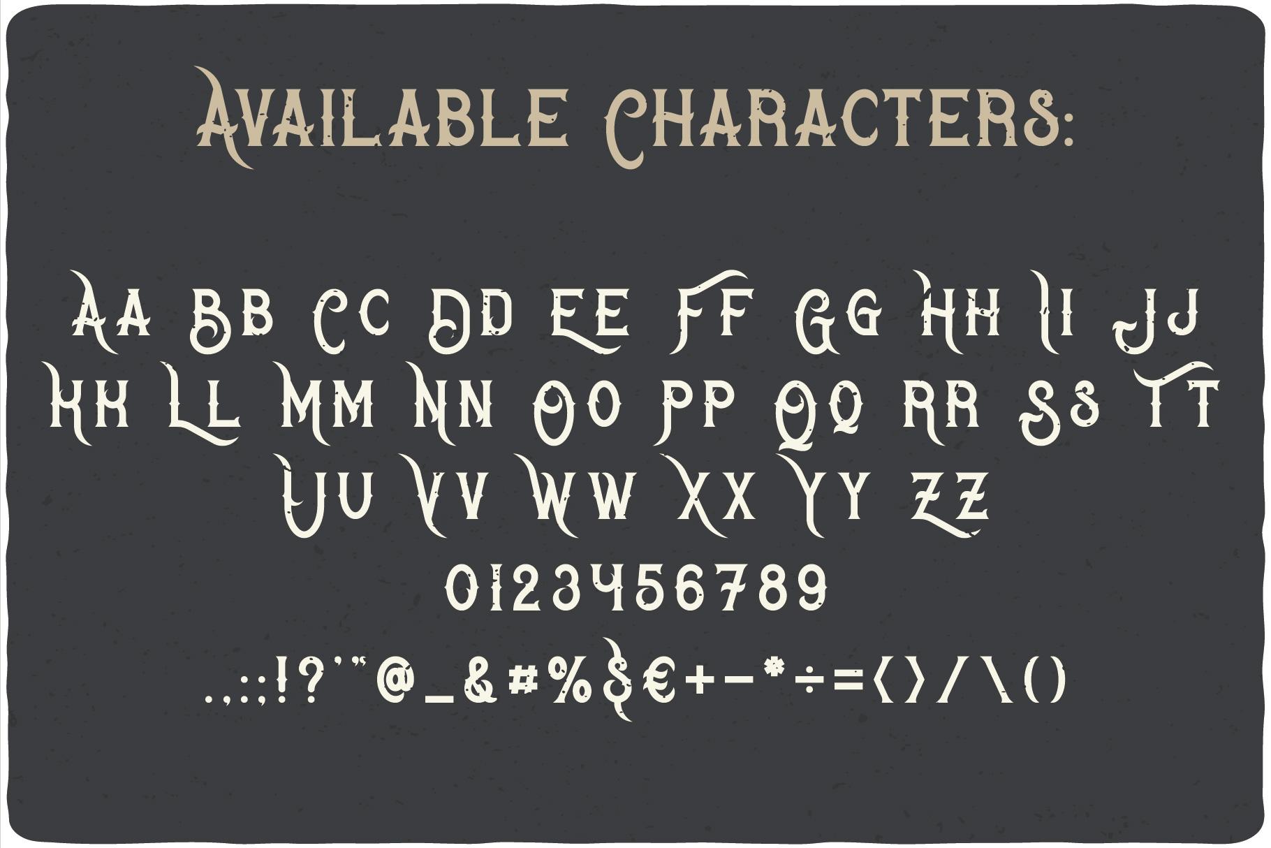 Bandidas - font and t-shirt designs example image 2