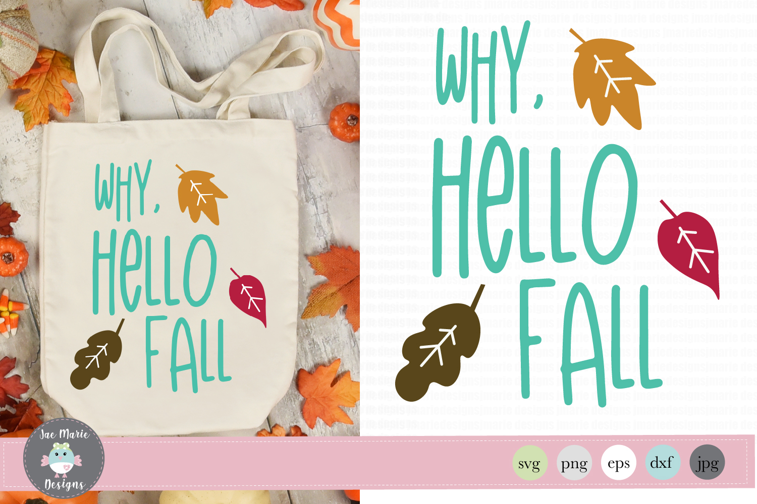 Hello fall svg, why hello fall svg, thanksgiving svg example image 1