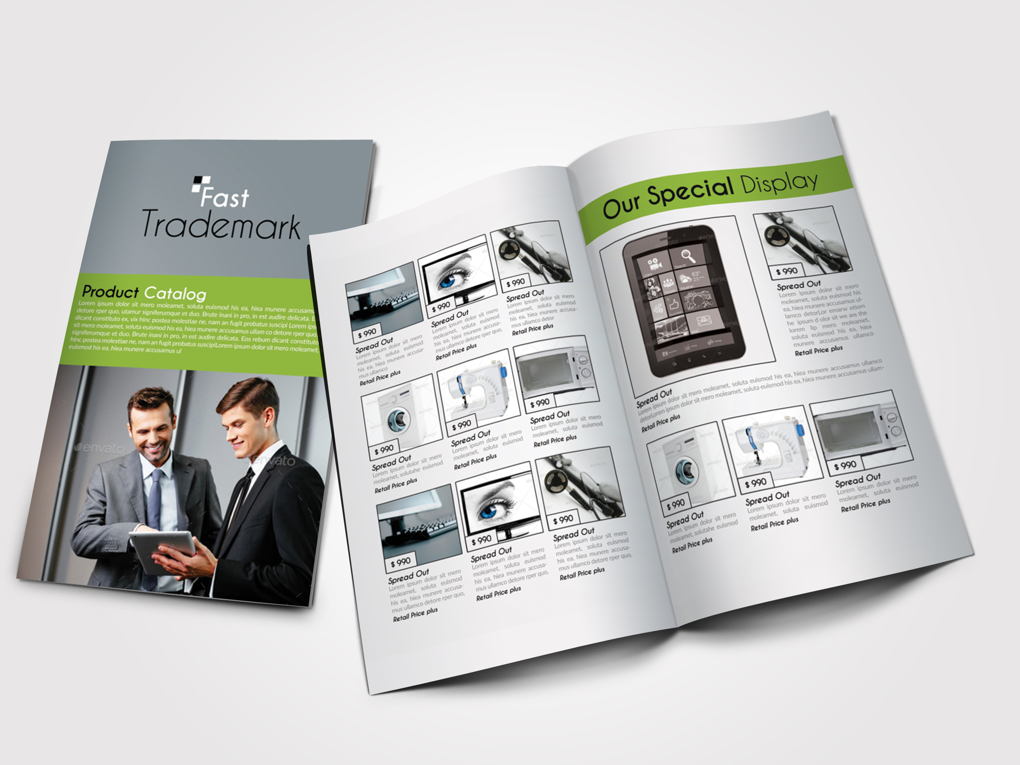 Business Innovation Product Bifold Brochure example image 1