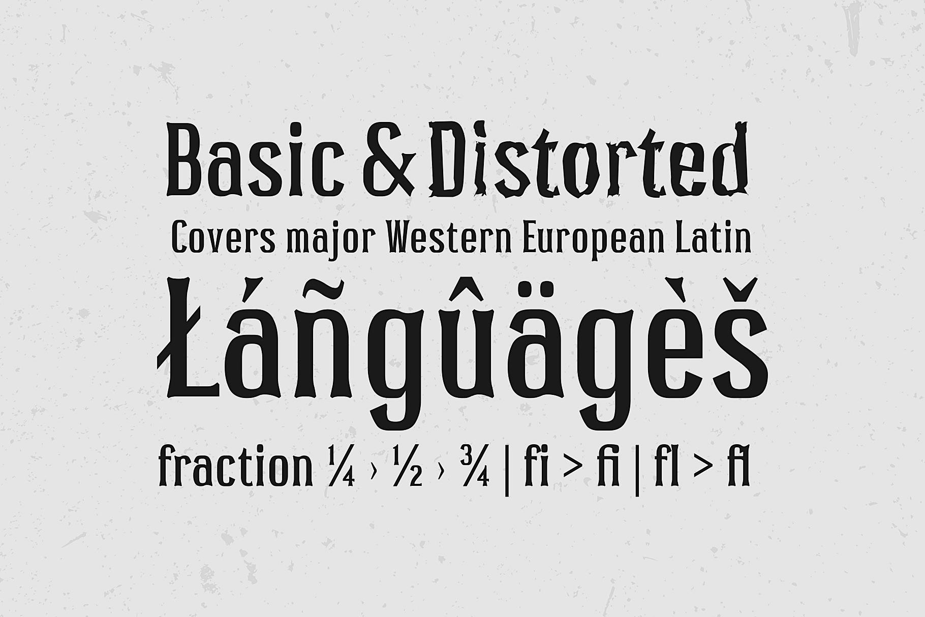 Pocus Primera   Condensed Style Font example image 9