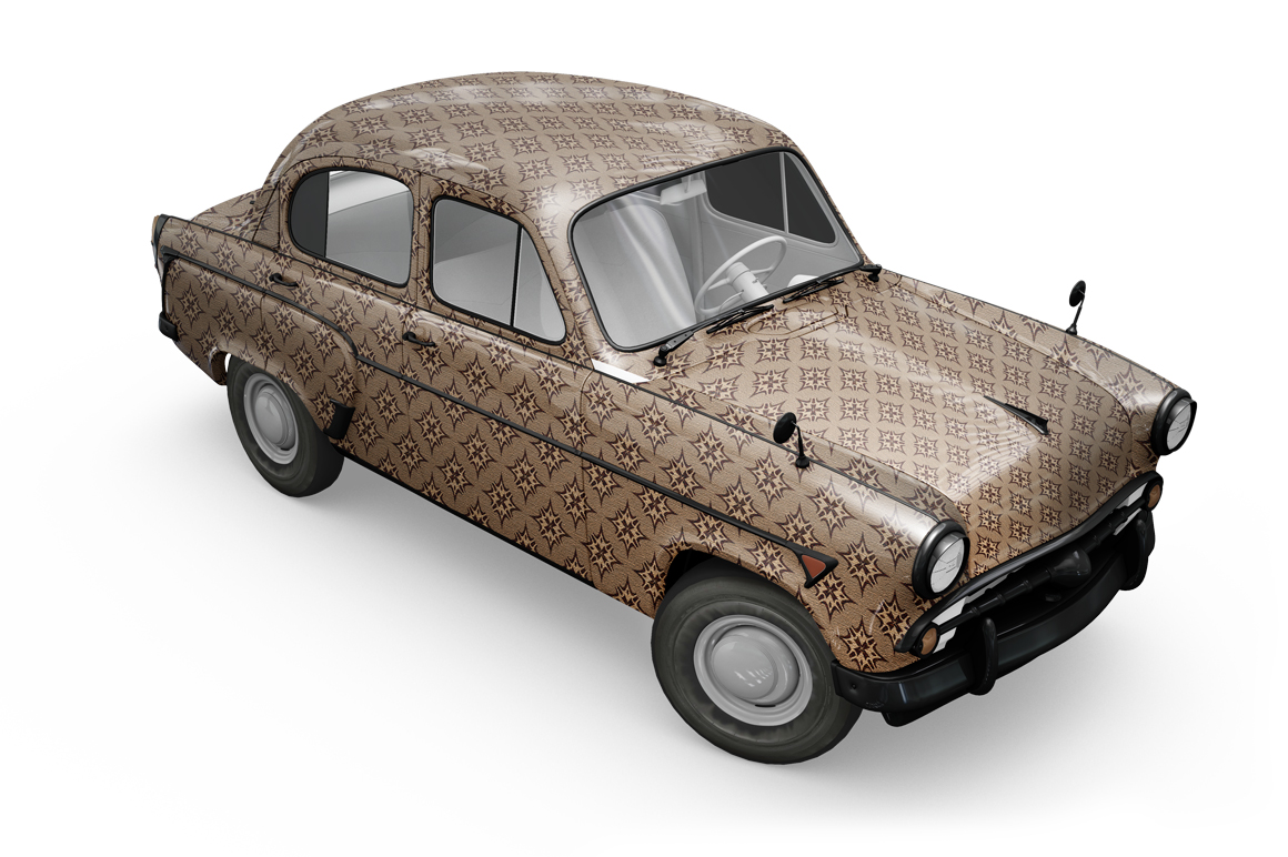 Vintage Car Mockup example image 13