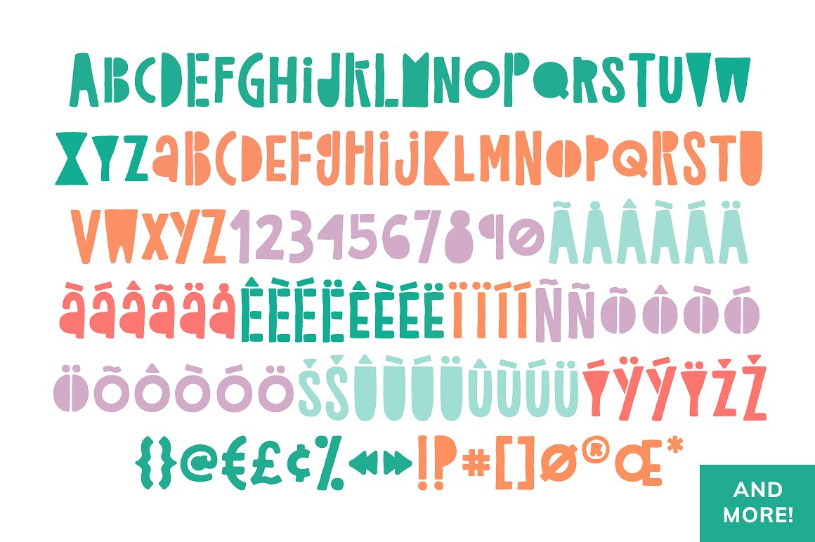 Childish Reverie Font example image 7