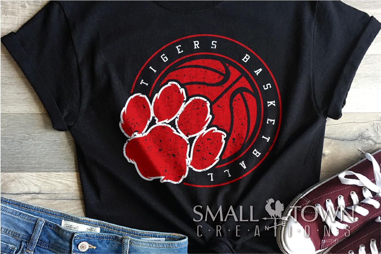 Tigers basketball, tiger mascot, team, PRINT, CUT, DESIGN example image 7