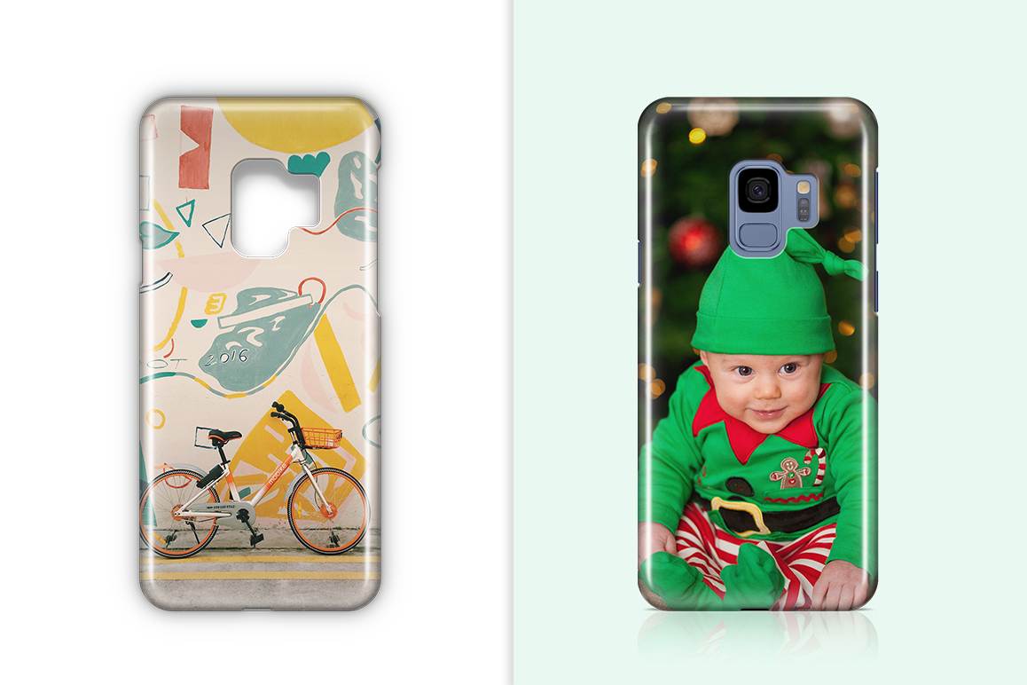 Samsung Galaxy S9 3d Phone Case Mockup example image 2