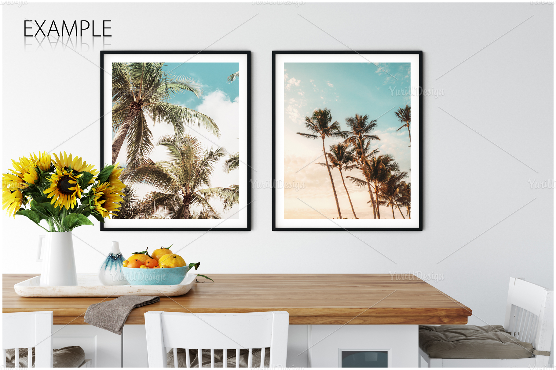 Frames & Walls Coastal Mockups Bundle example image 8