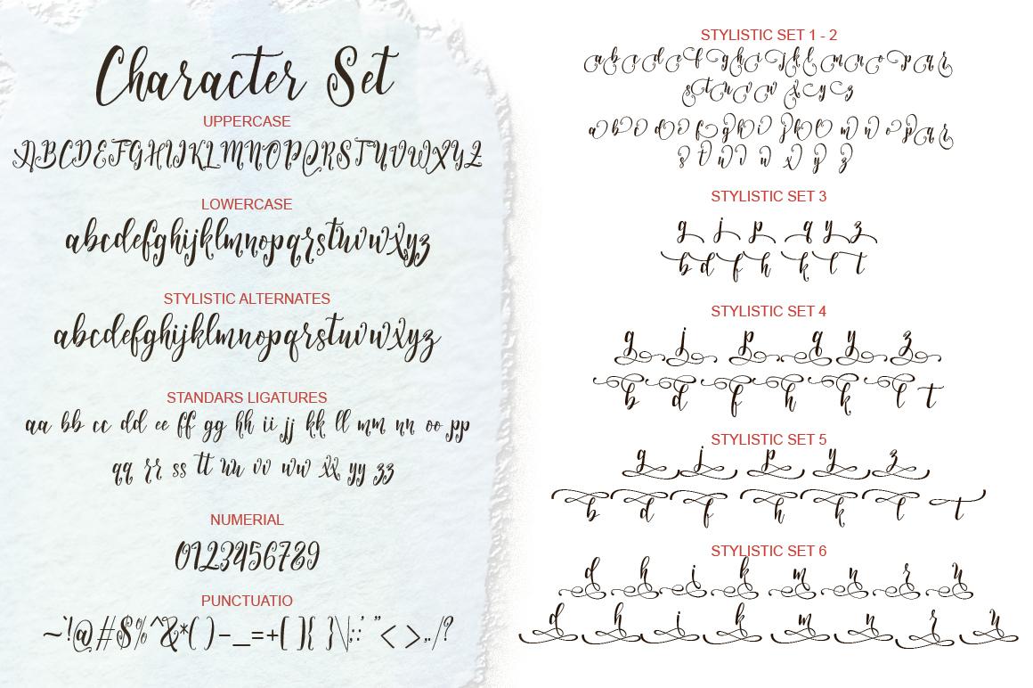 Arillyoni Script example image 8