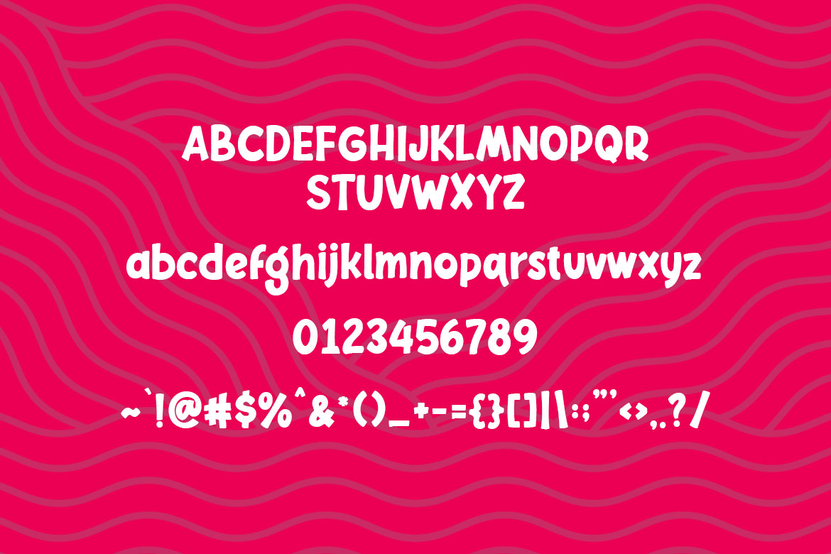 Chelsy - Cute Font Sans example image 10