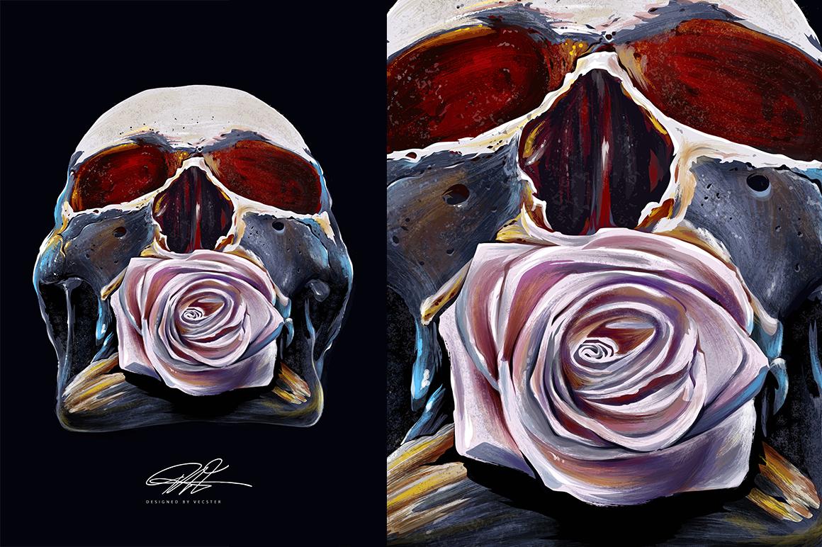 60+ Grunge Illustrator Brushes example image 5