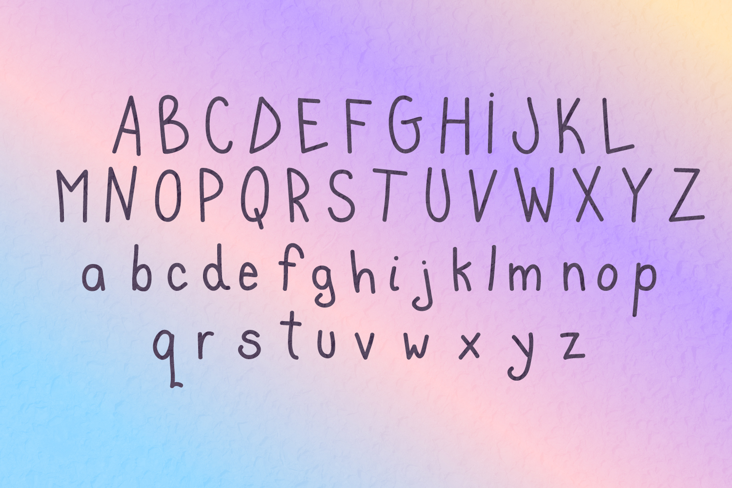 Cute Blunder- quirky hand-drawn font example image 2