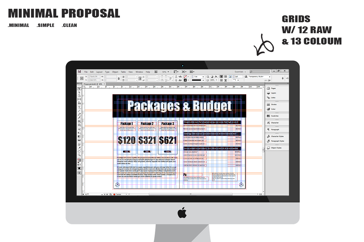 Minimal Proposal Template example image 8