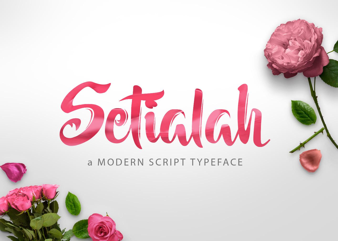 Setialah example image 1