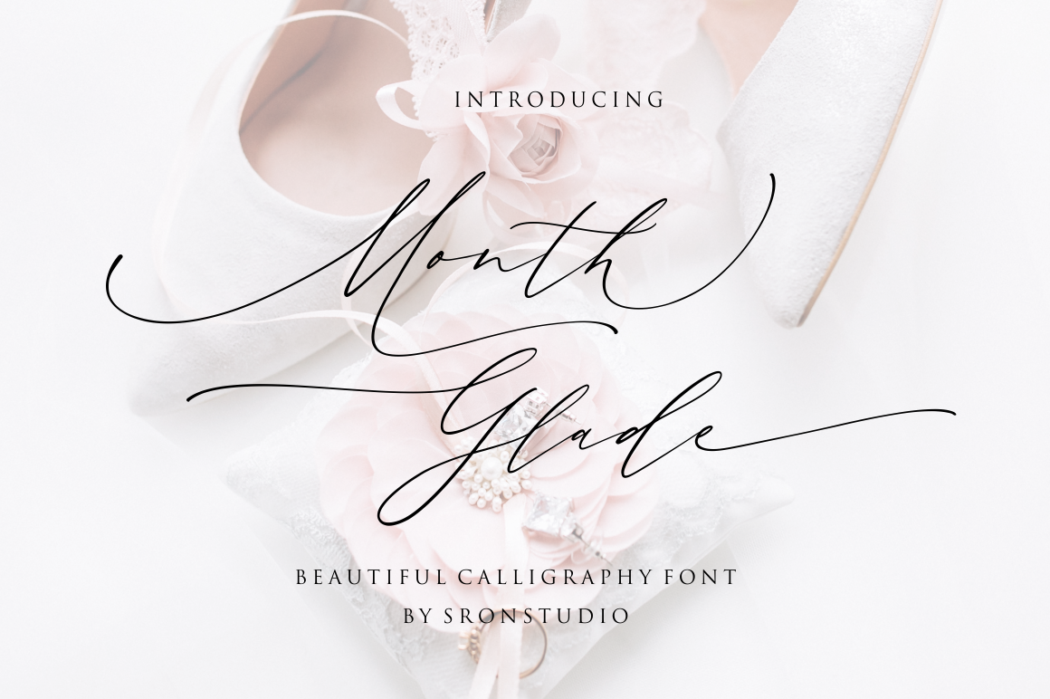 Month Glade - Calligraphy Font example image 1
