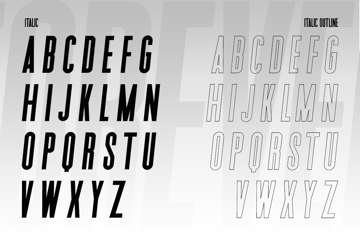 Forever Freedom Font Family example image 8
