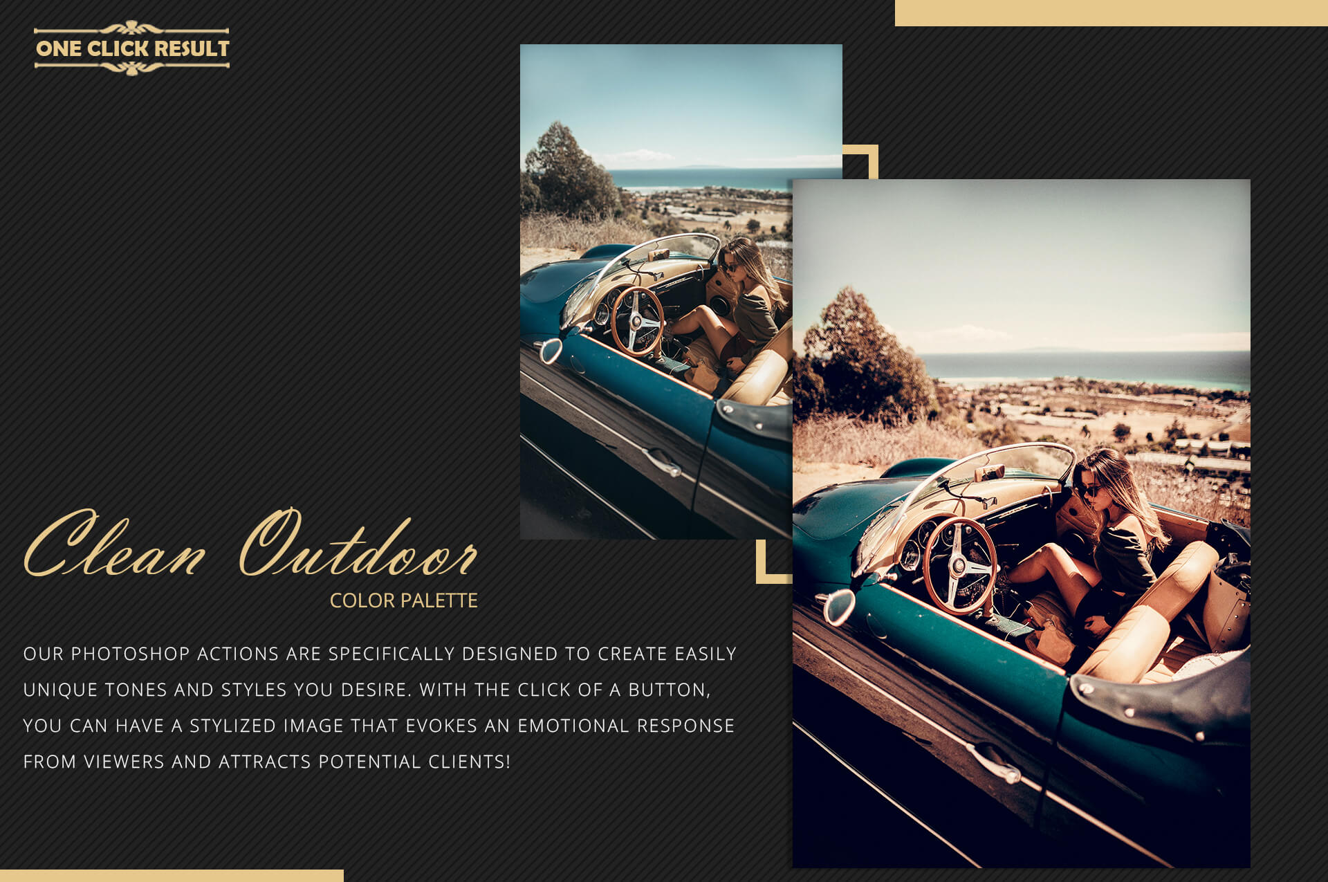 Neo Clean Outdoor Color grading Photoshop Actions example image 8