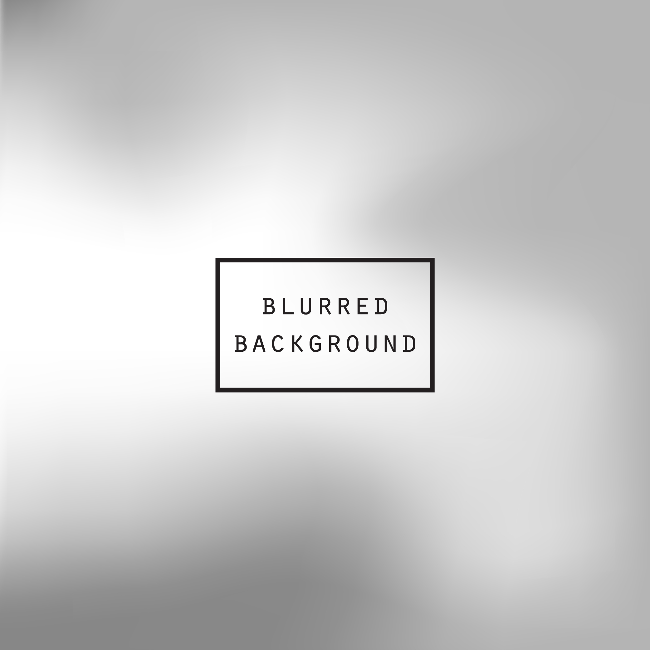 Blurred silver abstract gradient background example image 4