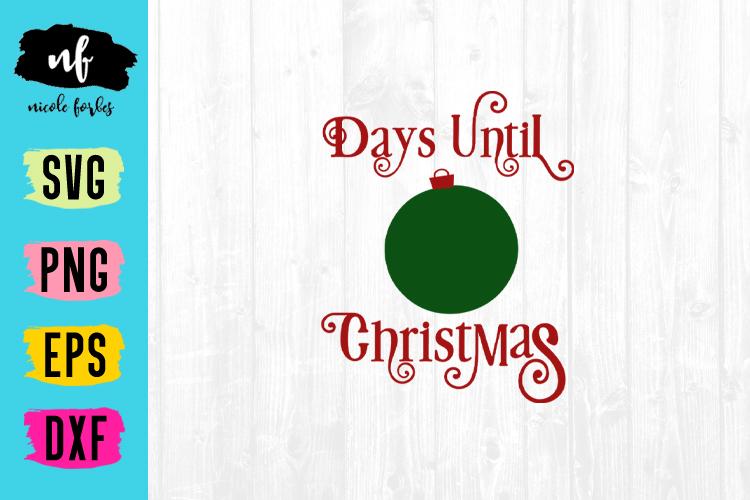 Christmas Countdown SVG Bundle example image 2