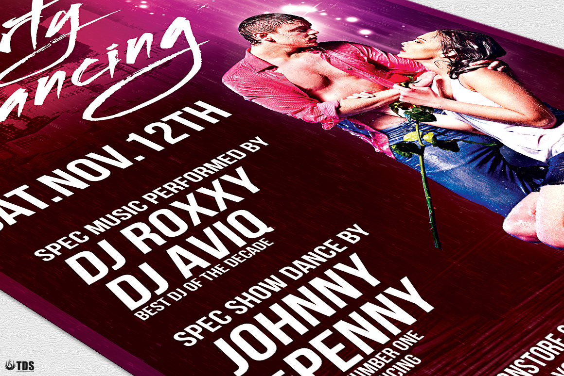 Dirty Dancing Flyer Template example image 6