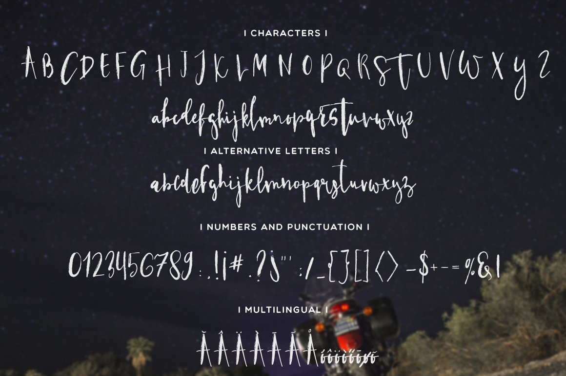 Hitchhiker Font example image 2