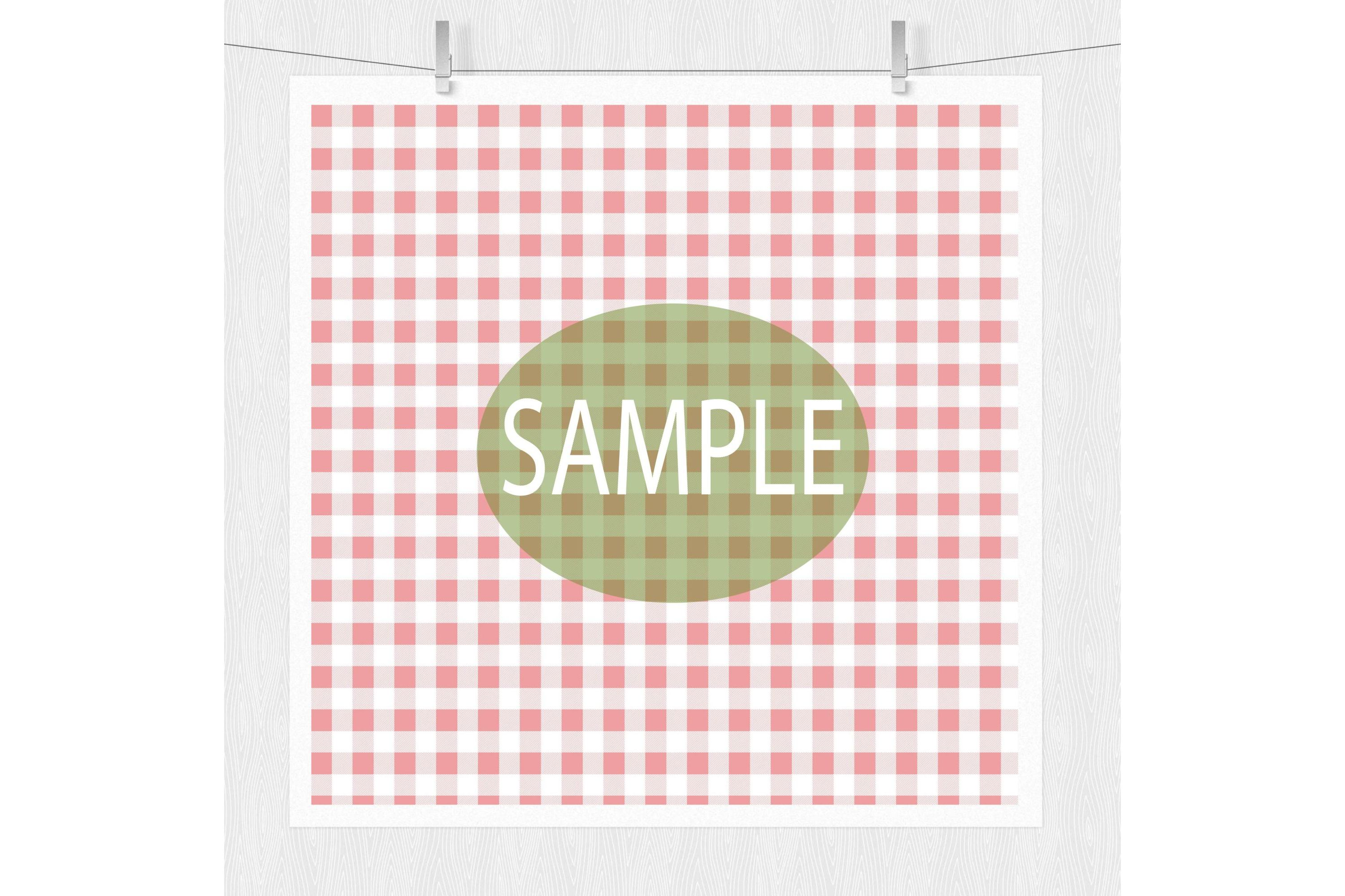 Cherry Digital Paper - Cottage Chic example image 5