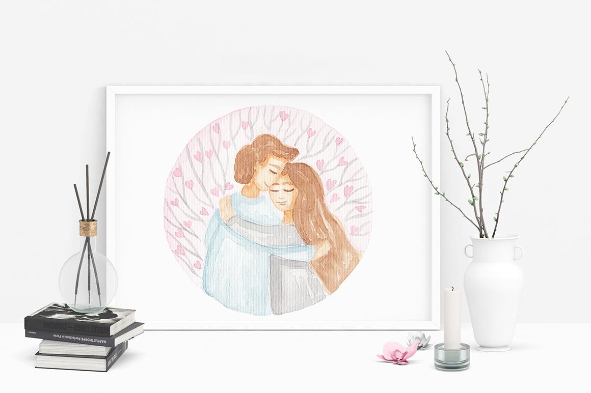 Wedding Watercolor Set example image 12