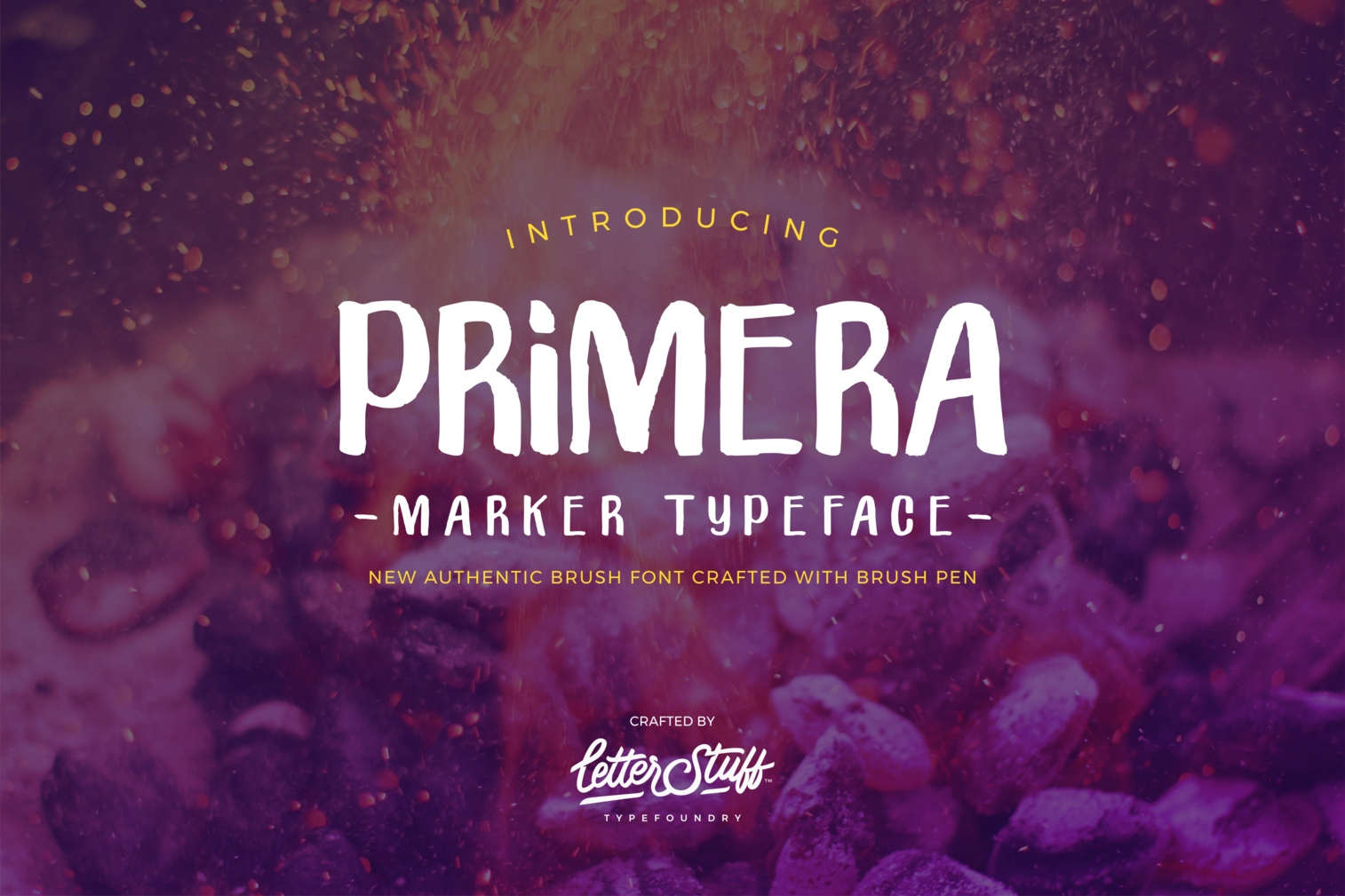 Primera Marker Typeface example image 1