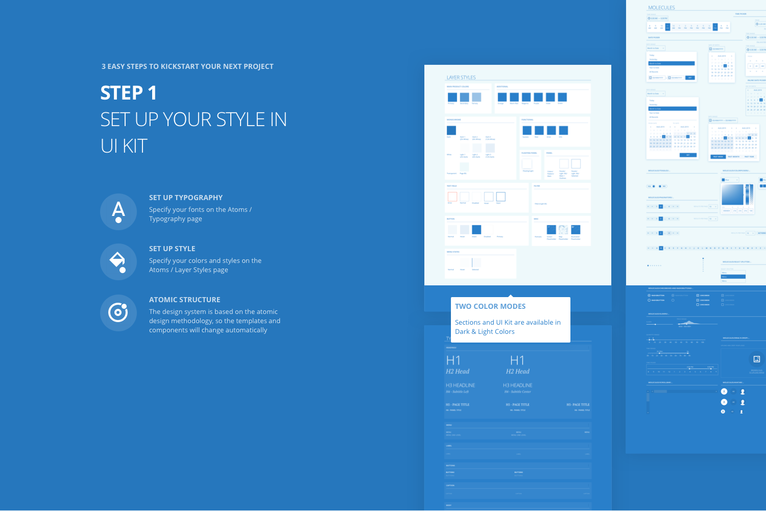 Tapky 1 Wireframe Kit example image 3