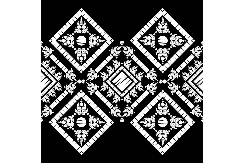Ethnic boho ornament. Set of 10 seamless patterns. example image 7