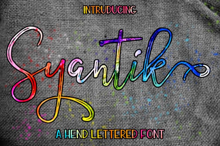 Syantik example image 1