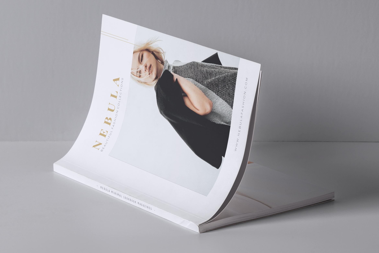 NEBULA Minimal Lookbook Magazine Styles example image 8