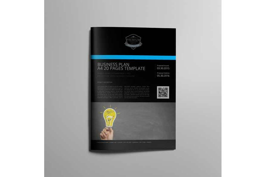 Business Plan A4 20 Pages Template example image 5