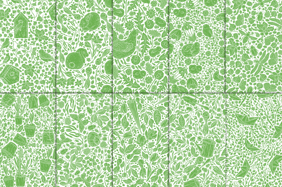 Spring Stories patterns example image 9