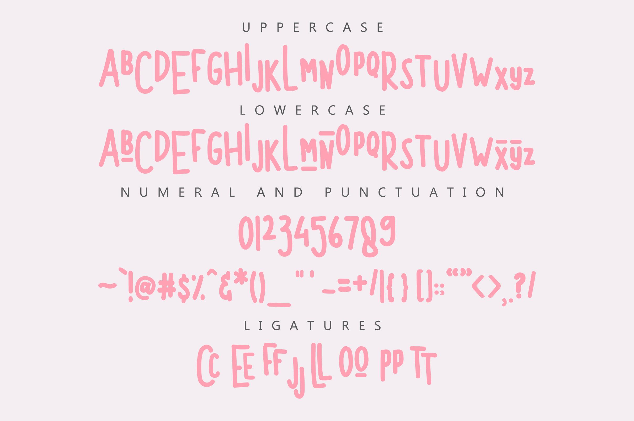 Morgenta Display Font example image 7