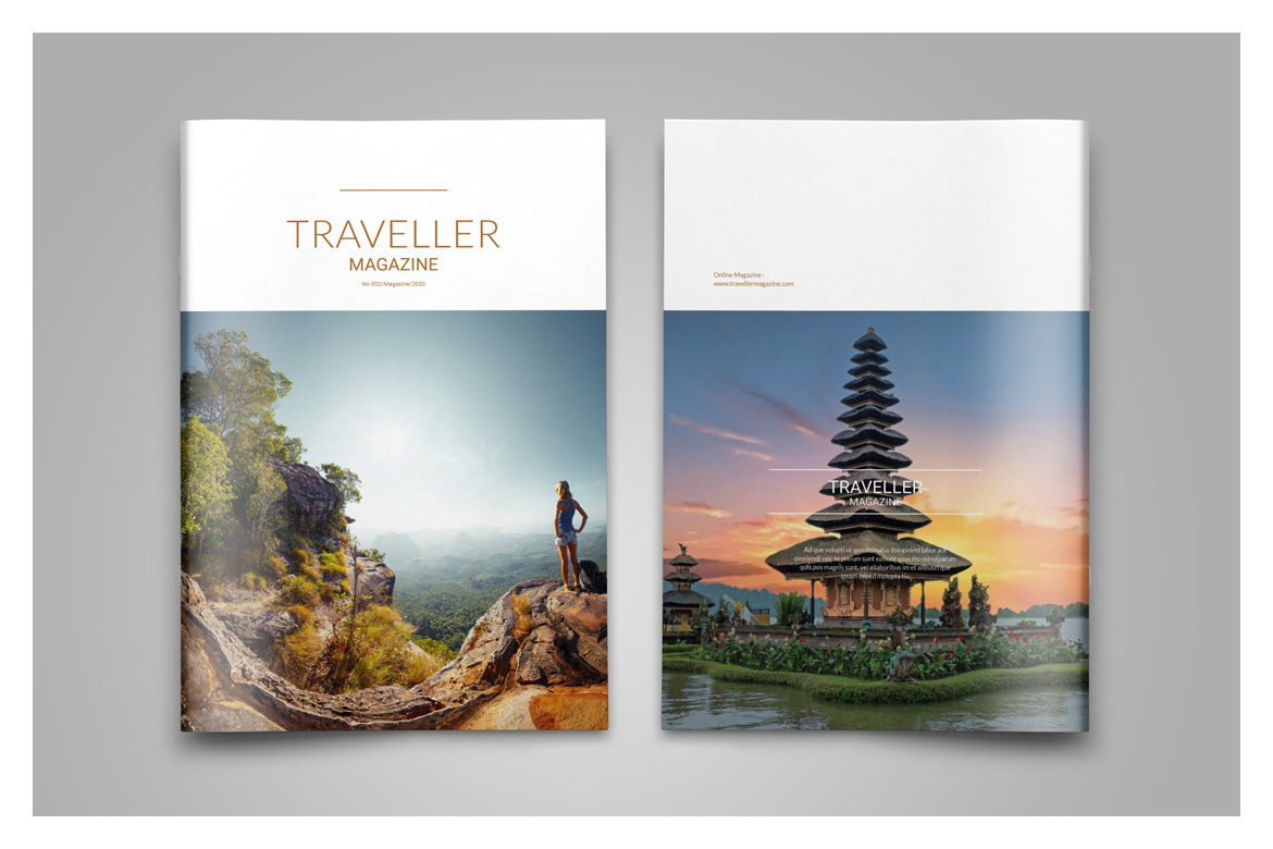 Indesign Magazine Template example image 3